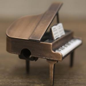 鉛筆削り アンティーク グランドピアノ 雑貨 置物 インテリア小物 ギフト 誕生日プレゼント お礼 お返し お祝い 宅急便コンパクト可|fleur-de-camelia2