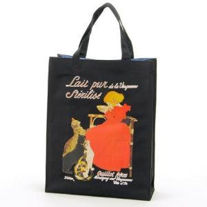 スタンラン 牛乳ポスター トートバッグ A4対応 世界の名画シリーズ 美術 芸術 ギフト お礼 お返し お祝い|fleur-de-camelia2