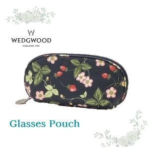 新商品 WEDGWOOD ウェッジウッド メガネケース ワイルドストロベリー 女性 ブランド ギフト...