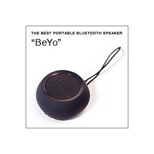 BeYo(ビーヨ) ブラック×ブラック(ウーファー搭載 Bluetooth対応 ポータブルスピーカー)|flgds
