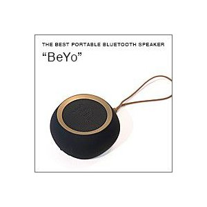 BeYo(ビーヨ) ブラック×ゴールド(ウーファー搭載 Bluetooth対応 ポータブルスピーカー)(日本限定、特別カラー仕様)|flgds