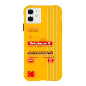 Case-Mate×Kodak iPhone 11 Case Kodak Vintage Kodachrome II Print|flgds