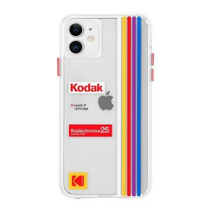 Case-Mate×Kodak iPhone 11 Case Kodak Striped Kodachrome Super 8|flgds