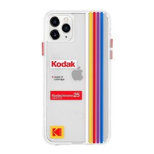 Case-Mate×Kodak iPhone 11 Pro Max Case Kodak Striped Kodachrome Super 8|flgds