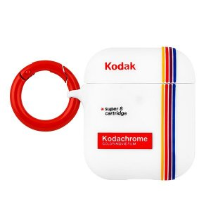 Case-Mate×Kodak Striped Kodachrome Super 8 Print Case for AirPods エアポッドケース|flgds