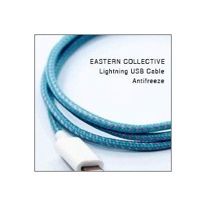 EASTERN COLLECTIVE Lightning USB ケーブル(Antifreeze)(Apple認証 iPhone/iPod対応 充電・データ転送等用ライトニングケーブル)|flgds