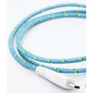 EASTERN COLLECTIVE Micro USB ケーブル(Clover)(アンドロイドスマートフォン、タブレットPC対応 充電・データ転送等用ケーブル)|flgds