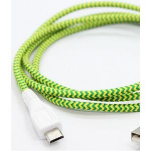 EASTERN COLLECTIVE Micro USB ケーブル(Florescent)(アンドロイドスマートフォン、タブレットPC対応 充電・データ転送等用ケーブル)|flgds