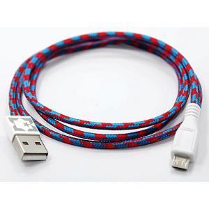 EASTERN COLLECTIVE Micro USB ケーブル(Navajo)(アンドロイドスマートフォン、タブレットPC対応 充電・データ転送等用ケーブル)|flgds