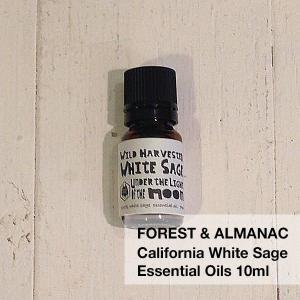 カリフォルニア ワイルドホワイトセージ エッセンシャルオイル 7ml(FOREST & ALMANAC)|flgds