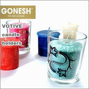 GONESH ガーネッシュ VOTIVE ボーティブキャンドルホルダー(ロータス) flgds