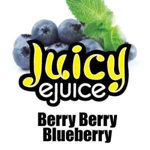 Juicy Ejuice 電子タバコ用リキッド Berry Berry Blueberry(ブルーベリー)10ml アメリカ・カナダ産|flgds