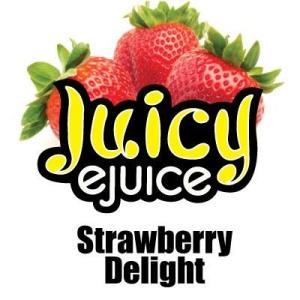 Juicy Ejuice 電子タバコ用リキッド Strawberry Delight(ストロベリー)10ml アメリカ・カナダ産|flgds