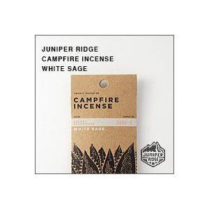 JUNIPER RIDGE(ジュニパーリッジ)CAMPFIRE INCESE(ホワイトセージ)お香(キャンプファイヤーインセンス) 20本入|flgds