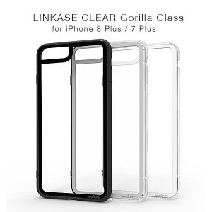 LINKASE CLEAR Gorilla Glass(ゴリラガラス)for iPhone 8 Plus/7Plus|flgds