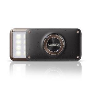 LUMENA2(ルーメナー2)メタルブラウン LEDランタン(10000mAhモバイルバッテリー機能付)【国内正規代理店品】|flgds