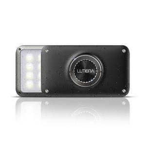 LUMENA2(ルーメナー2)メタルグレー LEDランタン(10000mAhモバイルバッテリー機能付)【国内正規代理店品】|flgds