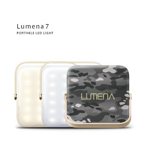 LUMENA7 (ルーメナー7)LEDランタン(迷彩グレイ)(10000mAhモバイルバッテリー機能付)【国内正規代理店品】 flgds