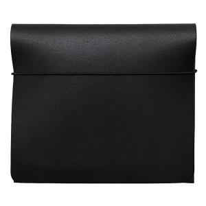 MYNUS FLIP UP WALLET slim(ブラック)栃木レザー スリム二つ折り財布|flgds