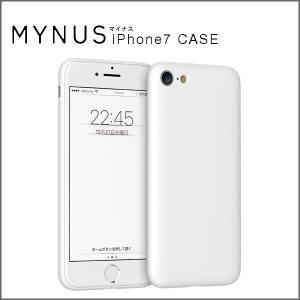 MYNUS iPhone 7 CASE(マットホワイト)アイフォンケース|flgds