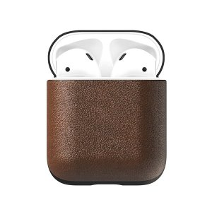 NOMAD Rugged Case for AirPods(Rustic Brown)|flgds