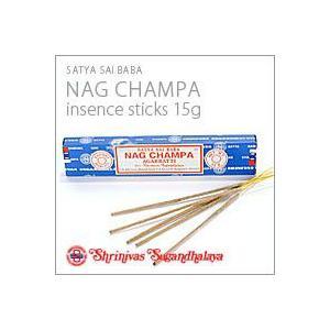 NagChampa ナグチャンパ インセンス スティック香 ボックス15g|flgds