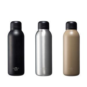 水筒 リバーズ ステンレスボトル 500ml 軽量 バキュームフラスク ステム BL 水筒 ステンレス 直飲み 保温 保冷 おしゃれ アウトドア RIVERSの商品画像|ナビ
