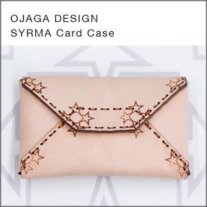 JAGA DESIGN(オジャガデザイン)SYRMA(ナチュラル)カードケース・名刺入れ|flgds