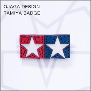 OJAGA DESIGN(オジャガデザイン)TAMIYAバッジ|flgds