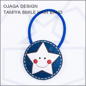 OJAGA DESIGN(オジャガデザイン)TAMIYAスマイルヘアバンド(ブルー)|flgds