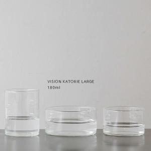 BOROSIL VISION GLASS KATORIE LARGE 180ml ボロシル ヴィジョングラス カトーリ 耐熱皿|flgds
