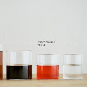 BOROSIL VISION GLASS S 210ml ボロシル ヴィジョングラス 耐熱グラス|flgds