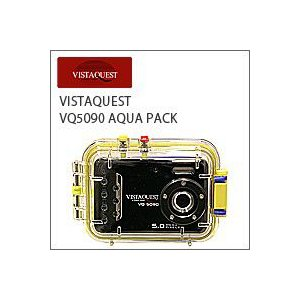 VISTAQUEST(ビスタクエスト)VQ5090 AQUA PACK(アクアパック)防水トイデジ(デジカメ)|flgds