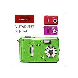 VISTAQUEST(ビスタクエスト)VQ7024Jトイデジ(デジカメ)|flgds