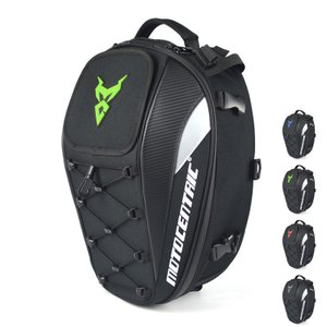 バイク用シートバッグ リアバッグ ツーリングバッグ ヘルメットバッグ 拡張機能あり 撥水 防水 耐久...
