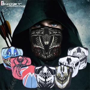 バイクマスク メンズ ハーフマスク 防寒 防風  マスク フェイスガード アウトドア バイク 自転車...
