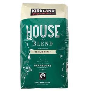 KIRKLAND (カークランド) シグネチャー スターバックス ロースト ハウスブレンドコーヒー ...