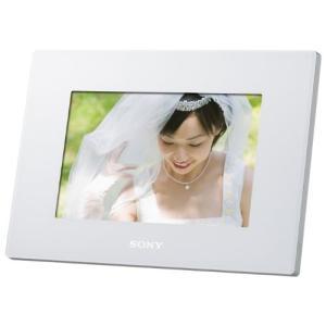 ソニー SONY デジタルフォトフレーム S-Frame D720 7.0型 内蔵メモリー2GB ホ...