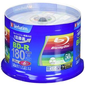 三菱ケミカルメディア Verbatim 1回録画用 BD-R VBR130RP50V4 (片面1層/...