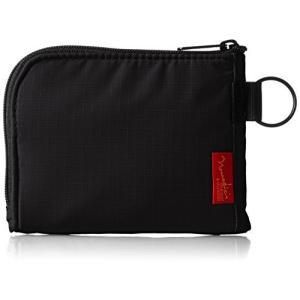 ノーマディック 財布 小銭入れ L字型コンパクト財布 SA-08 黒