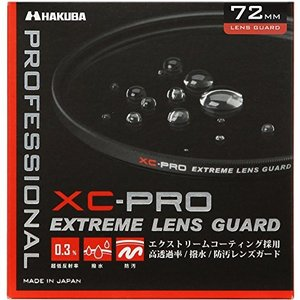 HAKUBA 72mm レンズフィルター XC-PRO 高透過率 撥水防汚 薄枠 日本製 レンズ保護...