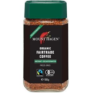 マウントハーゲン オーガニック フェアトレード カフェインレスインスタントコーヒー100g インスタ...