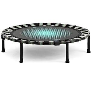 B-SANTE(ビサンテ) トランポリン ダイエットステップ 静音 ゴム式 直径93cm 家庭用 子供用 大人用|fljust