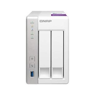 QNAP(キューナップ) TS-231P 専用OS QTS搭載 デュアルコア1.7GHz CPU 1...