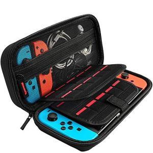 Nintendo Switch対応 Nintendo Switch専用の保護ケース 任天堂スイッチ用のキャリングケース外出や旅行用収納バッグナイロン素の商品画像 ナビ