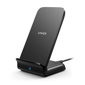 Anker PowerWave 7.5 Stand Qi認証 ワイヤレス充電器 iPhone 8 / 8Plus / X / XR / XS / XS|fljust