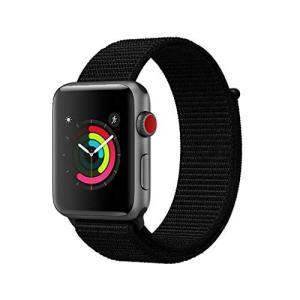 AIGENIUコンパチブル Apple Watch バンド Series5/4/3/2ナイロンループ...