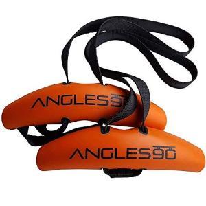 Angles90 grips (グリップ2点 + カラビナ1点) トレーニング用アタッチメント チンニング(懸垂) デッドリフト ラットプルダウン ト|fljust