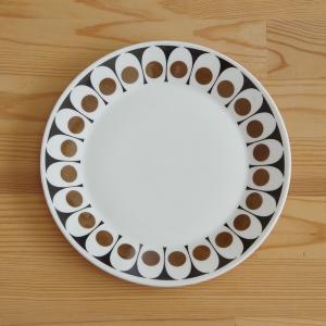 ヴィンテージ食器 ホステステーブルウェア ブラックベルベット プレート 中皿 17cm #19061...