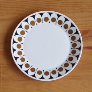 イギリス ビンテージ 食器 ホステステーブルウェア ブラックベルベット デザートプレート ケーキ皿 ...